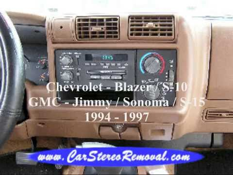 2003 gmc sonoma owners manual