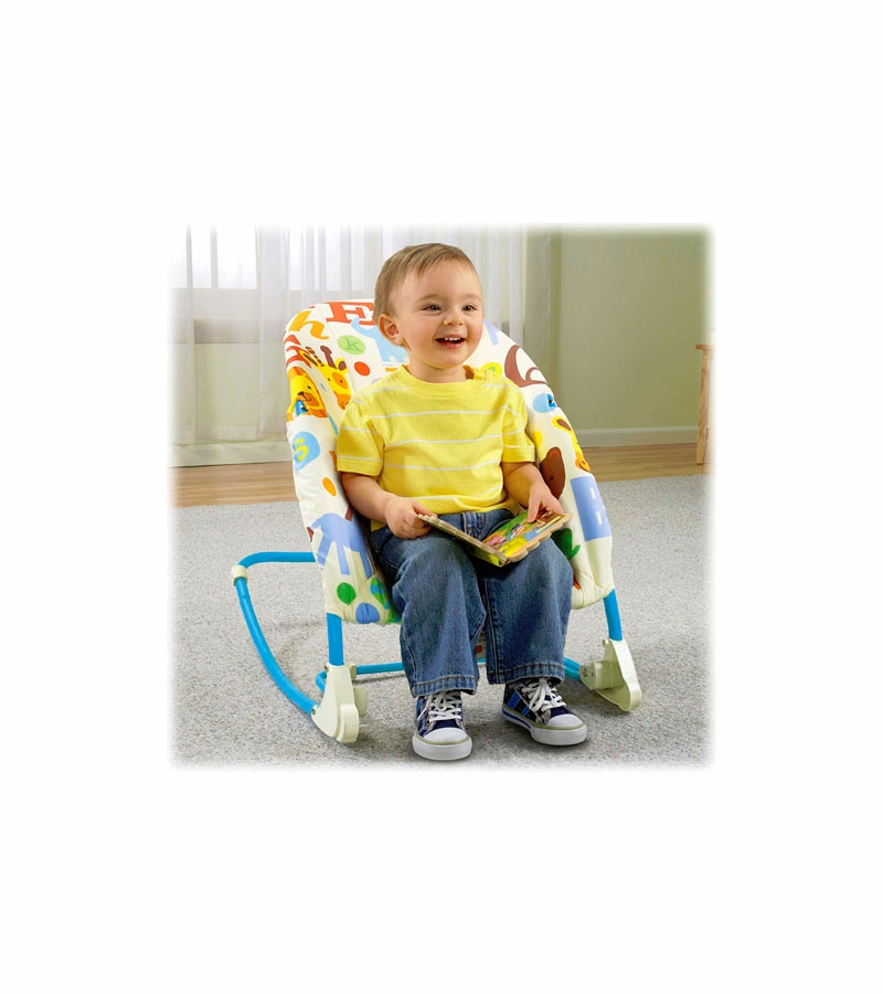 fisher price infant to toddler rocker manual