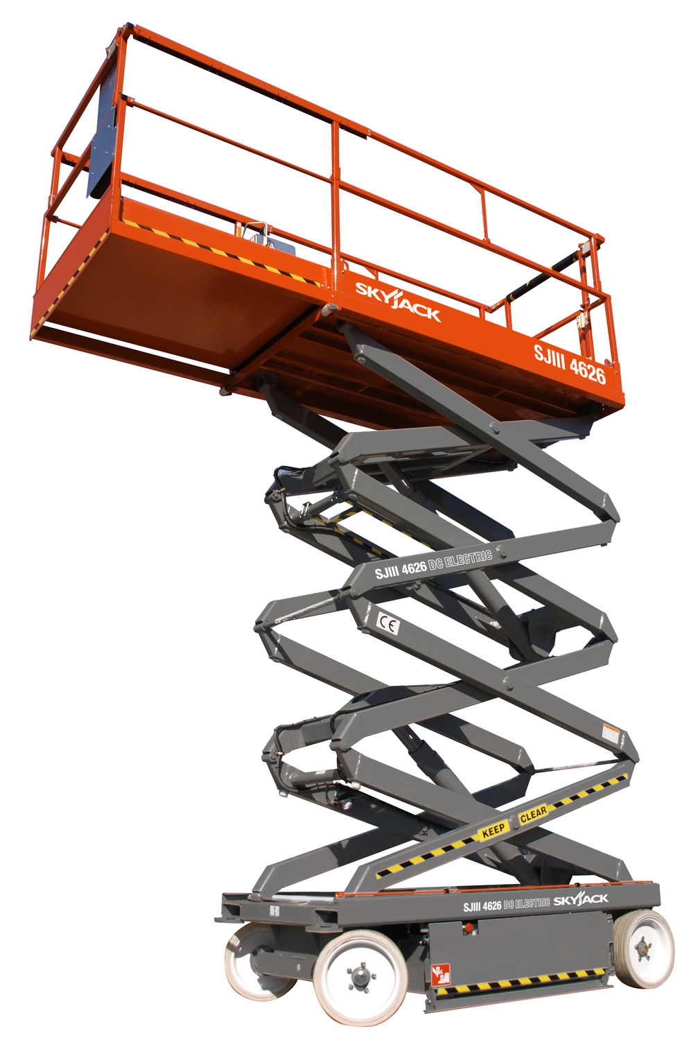 skyjack scissor lift operators manual