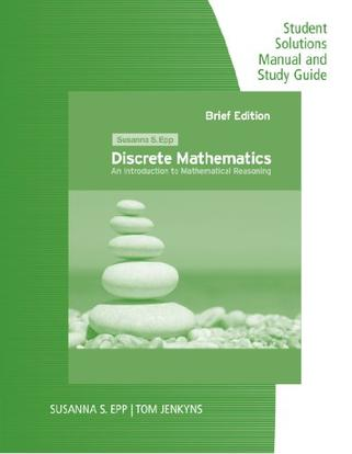 discrete mathematics with applications student solutions manual
