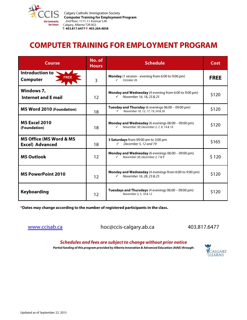 introduction to computers training manual