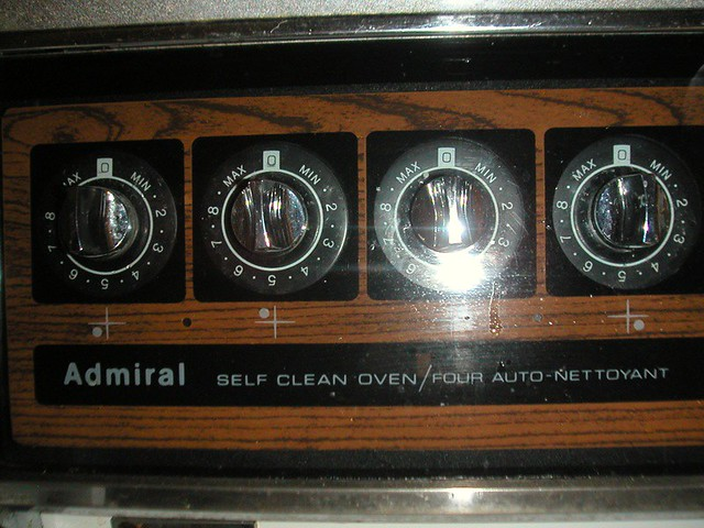 admiral self cleaning oven manual