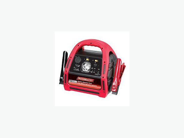 motomaster battery booster pack 1200 manual