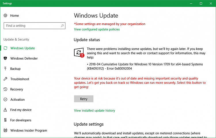 how do i get windows 10 updates manually