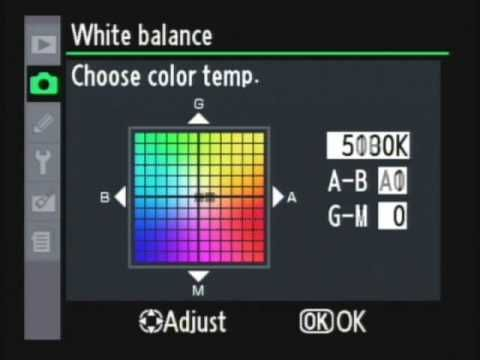nikon d90 manual settings for outdoor photography